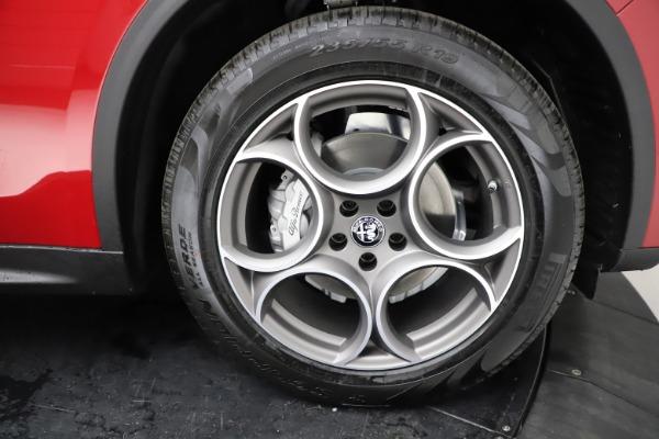 New 2021 Alfa Romeo Stelvio Q4 for sale $50,535 at Bentley Greenwich in Greenwich CT 06830 28