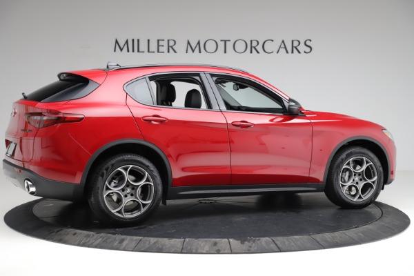 New 2021 Alfa Romeo Stelvio Q4 for sale $50,535 at Bentley Greenwich in Greenwich CT 06830 9