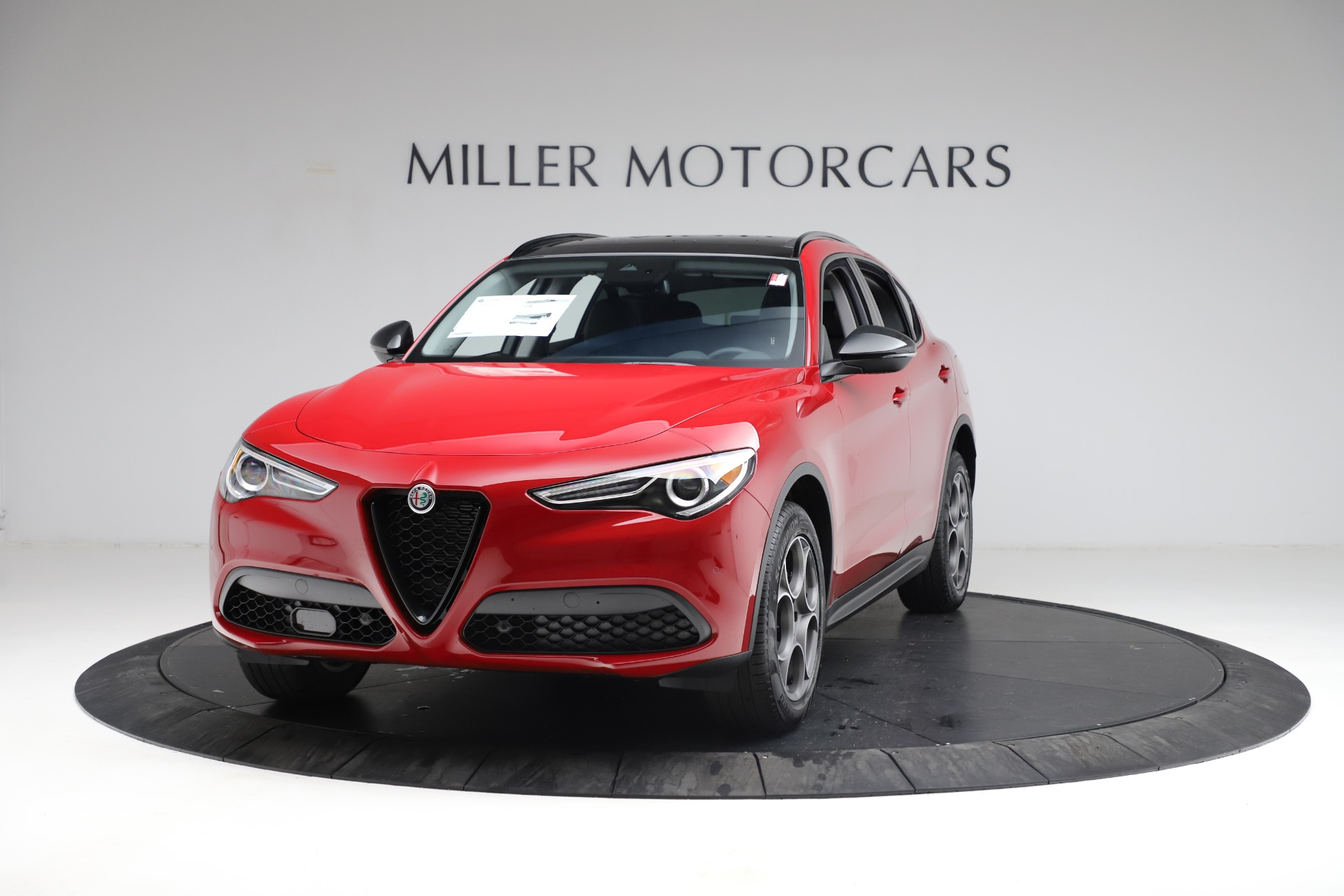 New 2021 Alfa Romeo Stelvio Q4 for sale $49,935 at Bentley Greenwich in Greenwich CT 06830 1