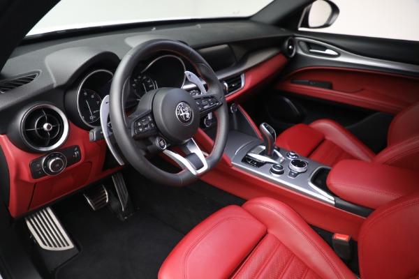 New 2021 Alfa Romeo Stelvio Ti Sport Q4 for sale Sold at Bentley Greenwich in Greenwich CT 06830 13