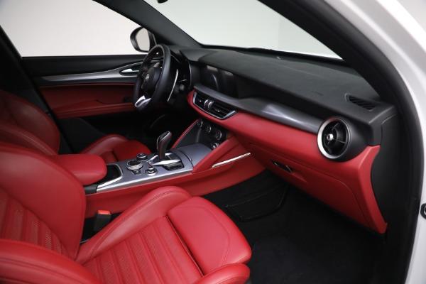 New 2021 Alfa Romeo Stelvio Ti Sport Q4 for sale Sold at Bentley Greenwich in Greenwich CT 06830 24