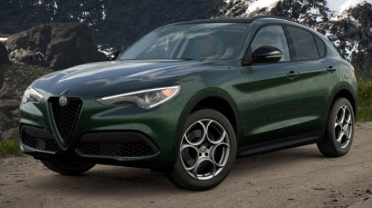 New 2021 Alfa Romeo Stelvio Q4 for sale $50,595 at Bentley Greenwich in Greenwich CT 06830 1