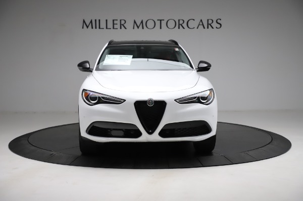 New 2021 Alfa Romeo Stelvio Q4 for sale Sold at Bentley Greenwich in Greenwich CT 06830 12