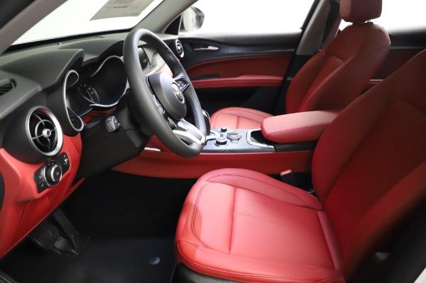 New 2021 Alfa Romeo Stelvio Q4 for sale Sold at Bentley Greenwich in Greenwich CT 06830 14