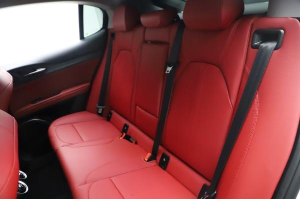 New 2021 Alfa Romeo Stelvio Q4 for sale Sold at Bentley Greenwich in Greenwich CT 06830 20