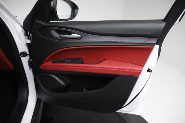 New 2021 Alfa Romeo Stelvio Q4 for sale Sold at Bentley Greenwich in Greenwich CT 06830 24