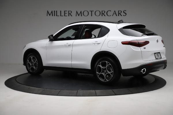 New 2021 Alfa Romeo Stelvio Q4 for sale Sold at Bentley Greenwich in Greenwich CT 06830 4