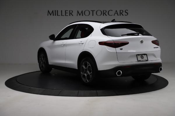 New 2021 Alfa Romeo Stelvio Q4 for sale Sold at Bentley Greenwich in Greenwich CT 06830 5