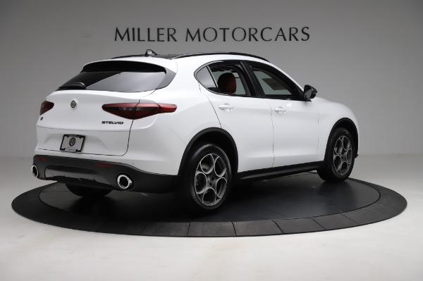 New 2021 Alfa Romeo Stelvio Q4 for sale Sold at Bentley Greenwich in Greenwich CT 06830 7