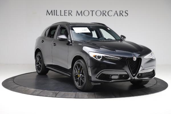 New 2021 Alfa Romeo Stelvio Ti Sport Q4 for sale $57,595 at Bentley Greenwich in Greenwich CT 06830 11