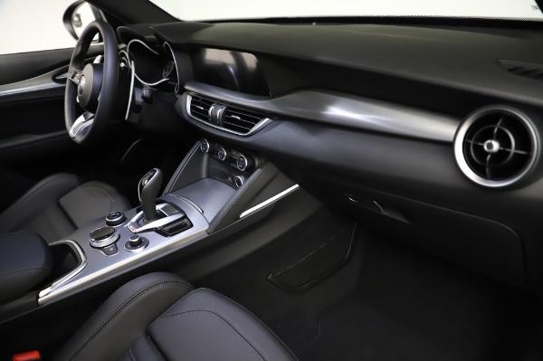 New 2021 Alfa Romeo Stelvio Ti Sport Q4 for sale $57,595 at Bentley Greenwich in Greenwich CT 06830 22