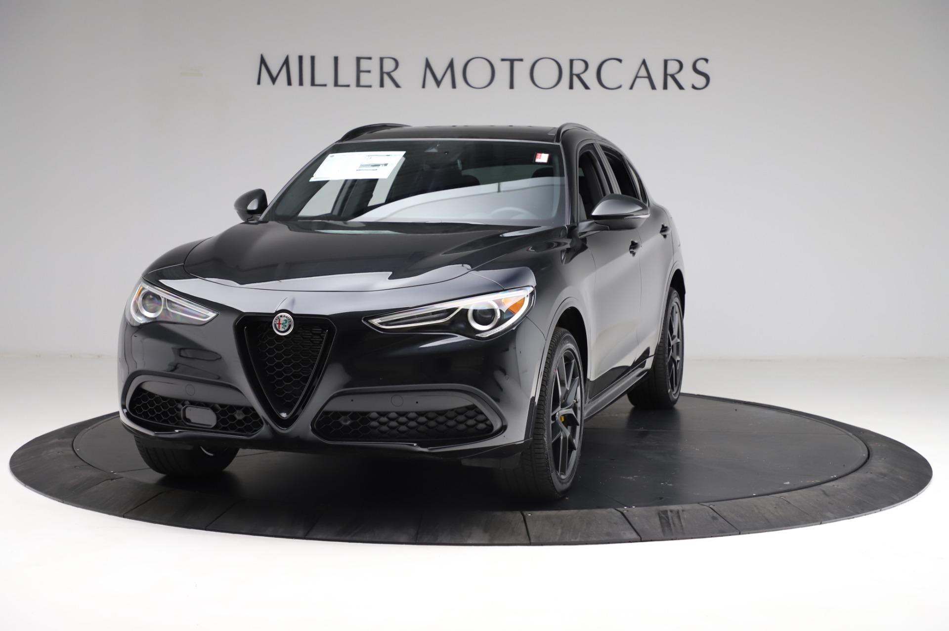New 2021 Alfa Romeo Stelvio Ti Sport Q4 for sale $57,595 at Bentley Greenwich in Greenwich CT 06830 1