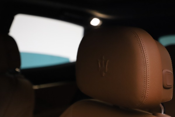 New 2021 Maserati Levante S Q4 for sale $98,925 at Bentley Greenwich in Greenwich CT 06830 16