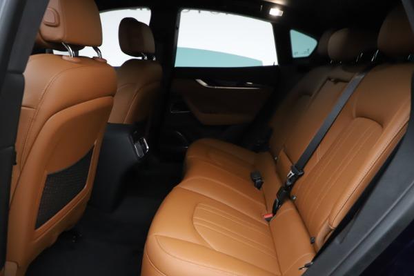 New 2021 Maserati Levante S Q4 for sale $98,925 at Bentley Greenwich in Greenwich CT 06830 22