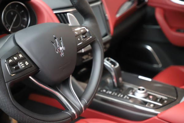 New 2021 Maserati Levante S Q4 GranSport for sale $105,835 at Bentley Greenwich in Greenwich CT 06830 21