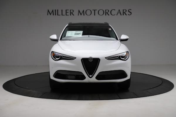 New 2021 Alfa Romeo Stelvio Q4 for sale $49,785 at Bentley Greenwich in Greenwich CT 06830 13