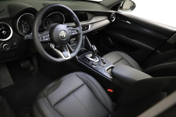 New 2021 Alfa Romeo Stelvio Q4 for sale $49,785 at Bentley Greenwich in Greenwich CT 06830 14