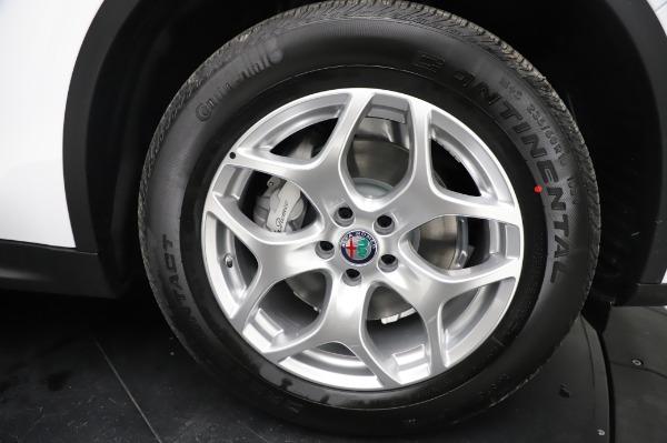 New 2021 Alfa Romeo Stelvio Q4 for sale $49,785 at Bentley Greenwich in Greenwich CT 06830 27