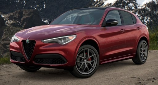 New 2021 Alfa Romeo Stelvio Ti Sport Q4 for sale $61,340 at Bentley Greenwich in Greenwich CT 06830 1