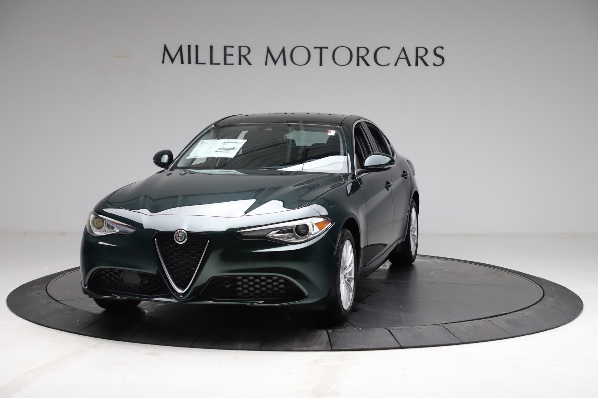New 2021 Alfa Romeo Giulia Q4 for sale $46,895 at Bentley Greenwich in Greenwich CT 06830 1
