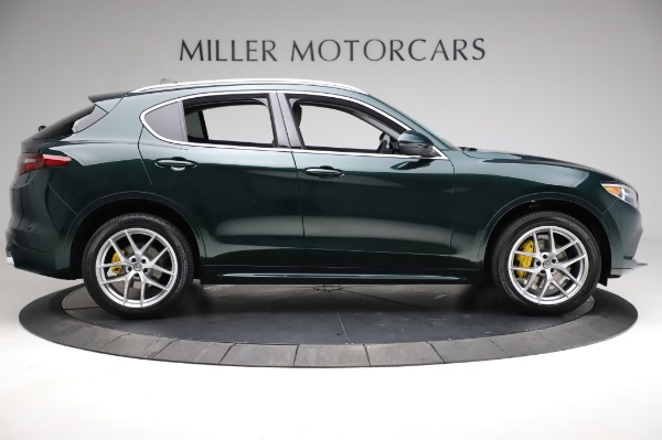 New 2021 Alfa Romeo Stelvio Ti Q4 for sale Sold at Bentley Greenwich in Greenwich CT 06830 10