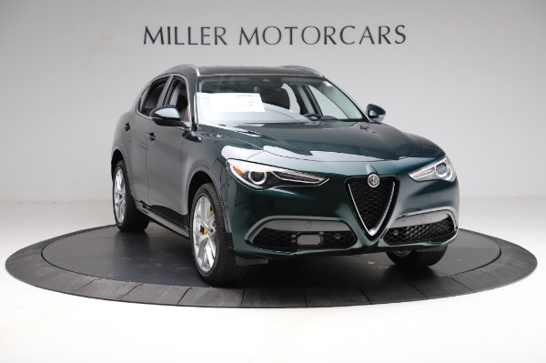 New 2021 Alfa Romeo Stelvio Ti Q4 for sale Sold at Bentley Greenwich in Greenwich CT 06830 12