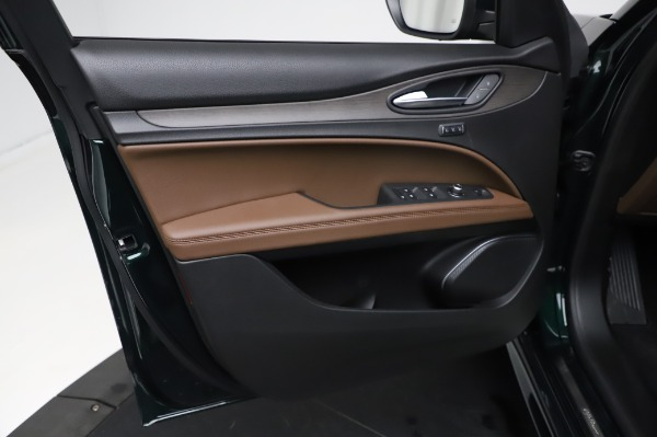 New 2021 Alfa Romeo Stelvio Ti Q4 for sale Sold at Bentley Greenwich in Greenwich CT 06830 18