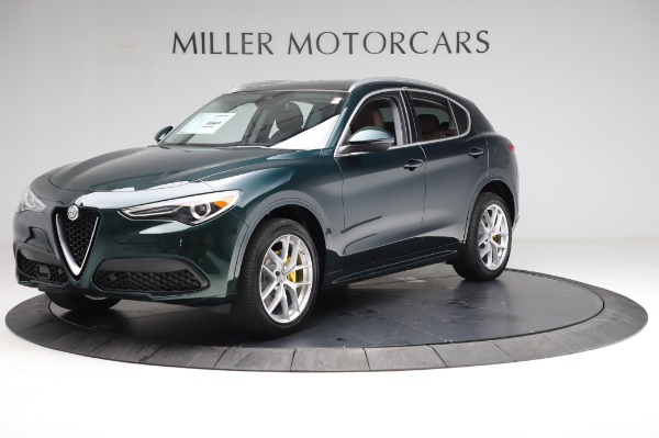 New 2021 Alfa Romeo Stelvio Ti Q4 for sale $53,800 at Bentley Greenwich in Greenwich CT 06830 2