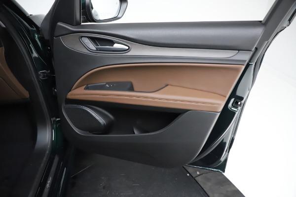 New 2021 Alfa Romeo Stelvio Ti Q4 for sale Sold at Bentley Greenwich in Greenwich CT 06830 24