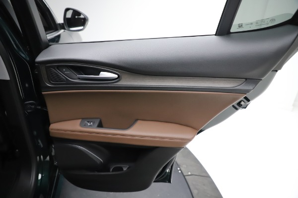 New 2021 Alfa Romeo Stelvio Ti Q4 for sale Sold at Bentley Greenwich in Greenwich CT 06830 26