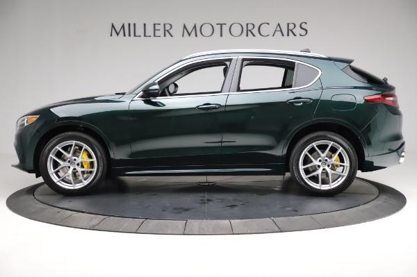 New 2021 Alfa Romeo Stelvio Ti Q4 for sale Sold at Bentley Greenwich in Greenwich CT 06830 3