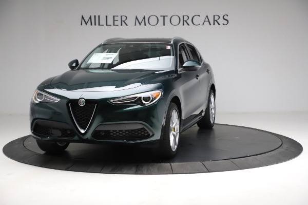 New 2021 Alfa Romeo Stelvio Ti Q4 for sale $53,800 at Bentley Greenwich in Greenwich CT 06830 1