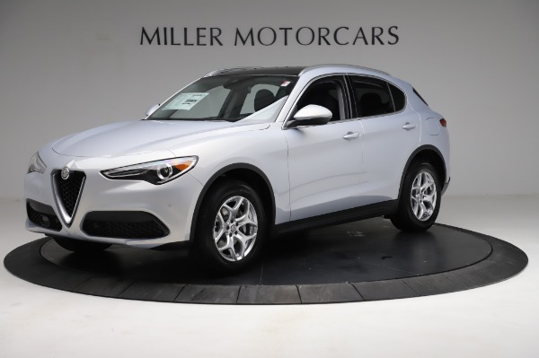 New 2021 Alfa Romeo Stelvio Q4 for sale $50,145 at Bentley Greenwich in Greenwich CT 06830 2