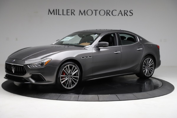 New 2021 Maserati Ghibli S Q4 for sale $90,525 at Bentley Greenwich in Greenwich CT 06830 2