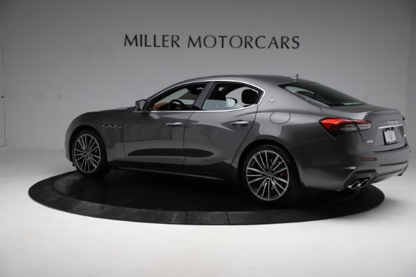 New 2021 Maserati Ghibli S Q4 for sale $90,525 at Bentley Greenwich in Greenwich CT 06830 4