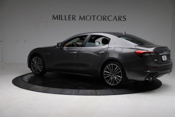 New 2021 Maserati Ghibli S Q4 for sale $90,525 at Bentley Greenwich in Greenwich CT 06830 5