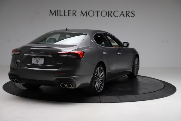 New 2021 Maserati Ghibli S Q4 for sale $90,525 at Bentley Greenwich in Greenwich CT 06830 8