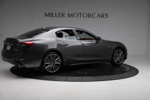 New 2021 Maserati Ghibli S Q4 for sale $90,525 at Bentley Greenwich in Greenwich CT 06830 9