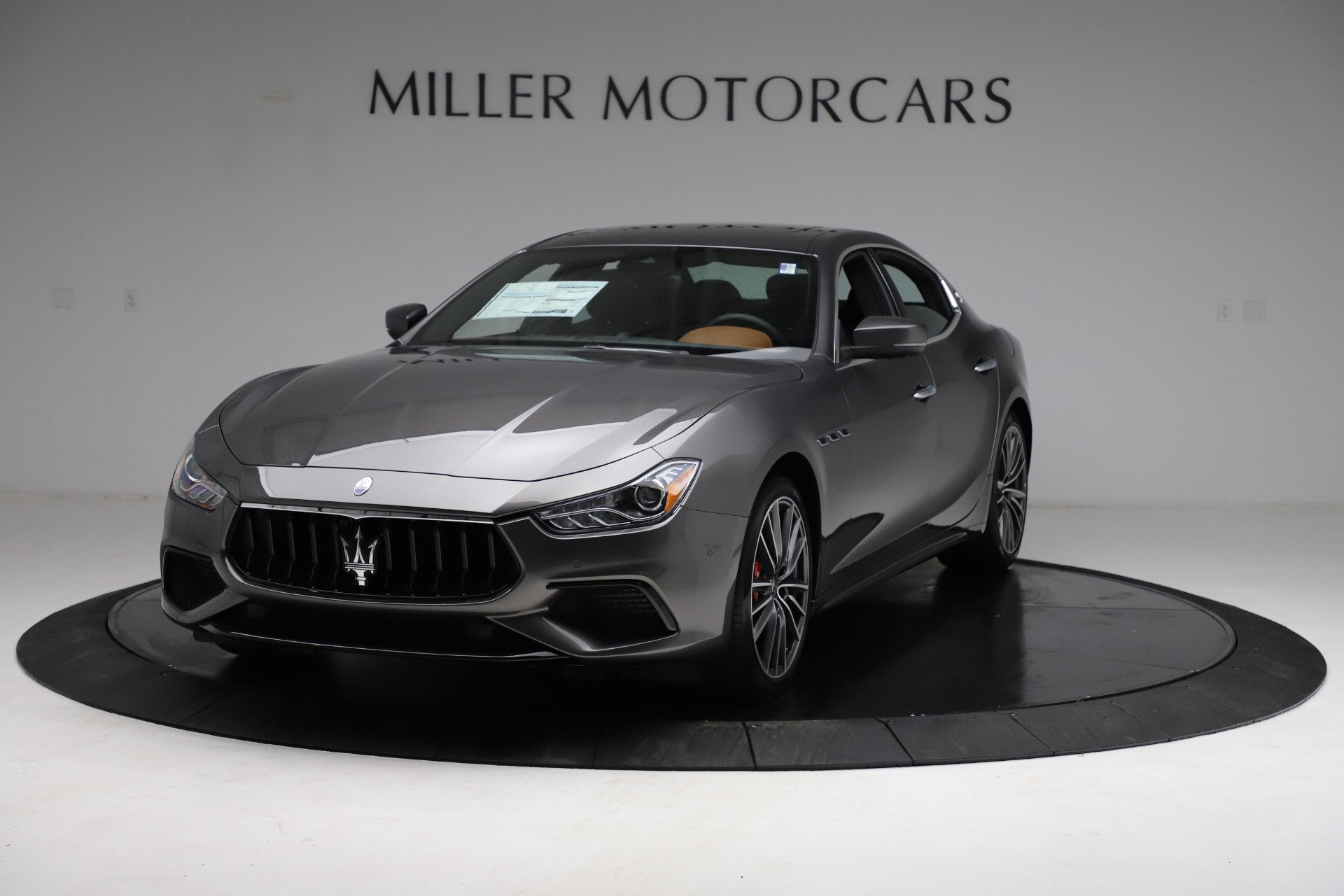 New 2021 Maserati Ghibli S Q4 for sale $90,525 at Bentley Greenwich in Greenwich CT 06830 1
