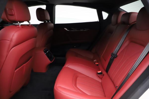New 2021 Maserati Quattroporte S Q4 GranLusso for sale $122,349 at Bentley Greenwich in Greenwich CT 06830 21