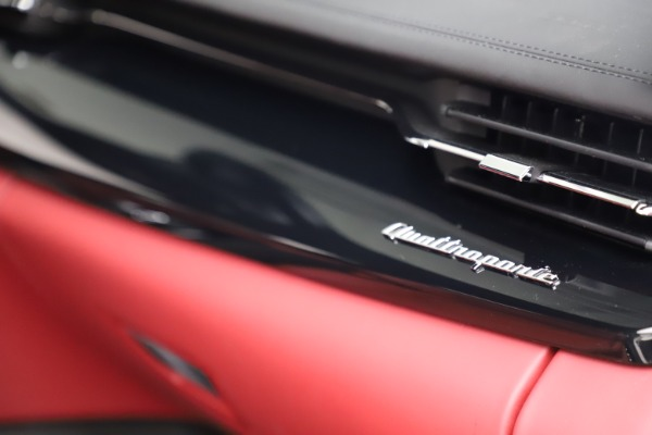 New 2021 Maserati Quattroporte S Q4 GranLusso for sale $122,349 at Bentley Greenwich in Greenwich CT 06830 27