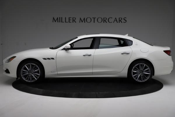 New 2021 Maserati Quattroporte S Q4 GranLusso for sale $122,349 at Bentley Greenwich in Greenwich CT 06830 3