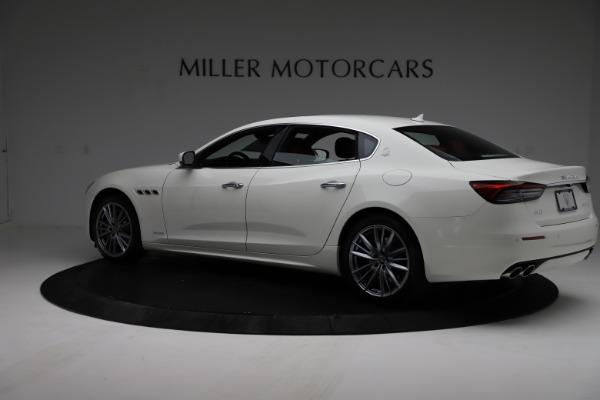 New 2021 Maserati Quattroporte S Q4 GranLusso for sale $122,349 at Bentley Greenwich in Greenwich CT 06830 4