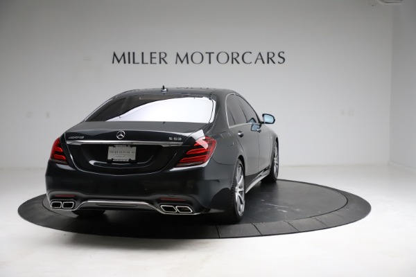 Used 2019 Mercedes-Benz S-Class AMG S 63 for sale $122,900 at Bentley Greenwich in Greenwich CT 06830 10