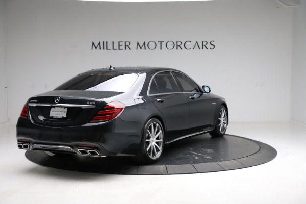 Used 2019 Mercedes-Benz S-Class AMG S 63 for sale $122,900 at Bentley Greenwich in Greenwich CT 06830 11