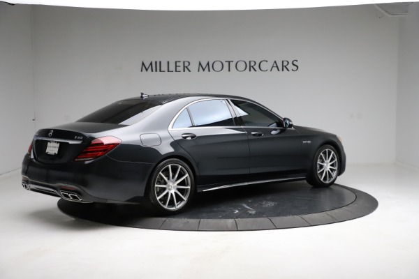 Used 2019 Mercedes-Benz S-Class AMG S 63 for sale $122,900 at Bentley Greenwich in Greenwich CT 06830 12