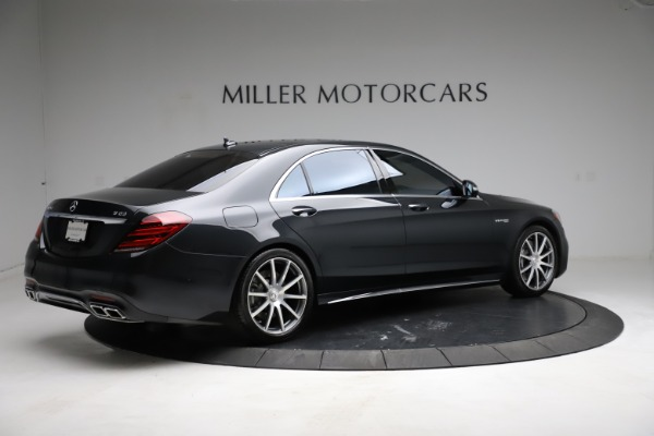 Used 2019 Mercedes-Benz S-Class AMG S 63 for sale $122,900 at Bentley Greenwich in Greenwich CT 06830 13