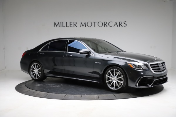 Used 2019 Mercedes-Benz S-Class AMG S 63 for sale $122,900 at Bentley Greenwich in Greenwich CT 06830 18