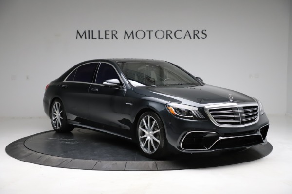 Used 2019 Mercedes-Benz S-Class AMG S 63 for sale $122,900 at Bentley Greenwich in Greenwich CT 06830 19