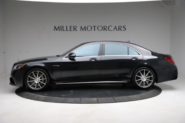 Used 2019 Mercedes-Benz S-Class AMG S 63 for sale $122,900 at Bentley Greenwich in Greenwich CT 06830 4